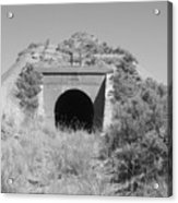 Small Tunnel Acrylic Print