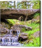 Small Waterfall 1 Acrylic Print
