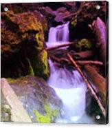 Small Waterfalls  Acrylic Print