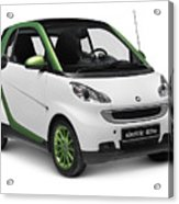 Smart Fortwo Electric Drive Acrylic Print