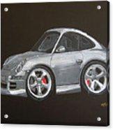 Smart Porsche Acrylic Print