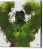 Smashing Green Acrylic Print