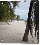 Smathers Beach - Key West Acrylic Print