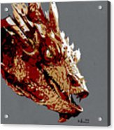 Smaug The Unassessably Wealthy Acrylic Print