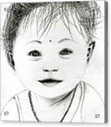 Smiling Child Acrylic Print