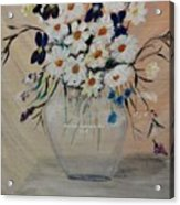 Smiling Daisies Acrylic Print