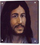 Smiling Jesus Acrylic Print
