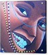 Smiling Kid Acrylic Print