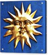 Smiling Sunshine Acrylic Print