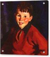 Smiling Tom Thomas Cafferty 1924 Acrylic Print