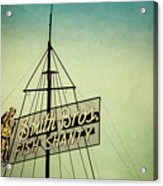 Smith Bros Fish Shanty Acrylic Print