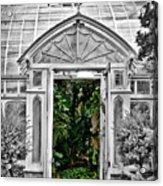 Smith College Greenhouse Acrylic Print
