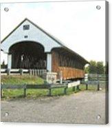 Smith Millennium Covered Bridge Acrylic Print