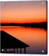 Smith Mountain Sunset Acrylic Print
