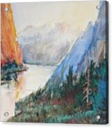 Smith Rock Morning 2 Acrylic Print