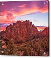 Smith Rock Sunset Acrylic Print