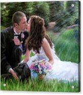 Smith Wedding Portrait Acrylic Print