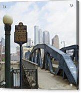 Smithfield Street Bridge Acrylic Print