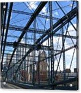 Smithfield Street Bridge Three Acrylic Print