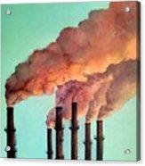 Smog Industrial II Acrylic Print