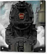 Smoke And Steam Acrylic Print