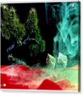Smoke In My Mind - 4 Acrylic Print