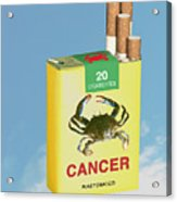 Smoke It... Acrylic Print