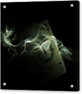 Smoke Acrylic Print by Ivan Vukelic