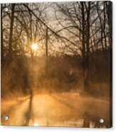 Smoke On The Water Acrylic Print