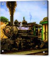 Smoke Stack Steam Train Acrylic Print