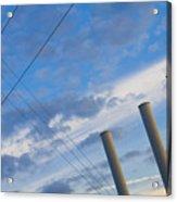 Smoke Stax Acrylic Print