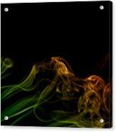 smoke XXXI Acrylic Print