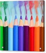Smoked Colors Acrylic Print