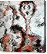 Smokers  Acrylic Print