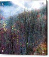 Smokey Mountain Ridge Acrylic Print