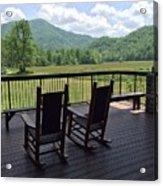 Smokey Mountain Serenity Acrylic Print
