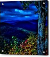 Smokey Mountain Still Life Acrylic Print by William Jones