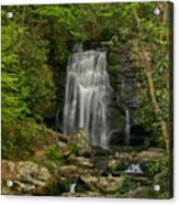 Smokey Mountain Waterfall Acrylic Print