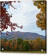 Smokey Mountains Acrylic Print