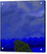 Smokey Mountains Landscape Acrylic Print