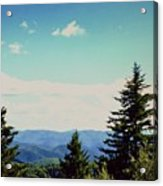 Smokey Mountains, Tn Acrylic Print