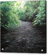 Smokey River Acrylic Print