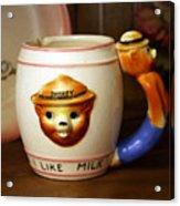 Smokey The Bear Mug Acrylic Print
