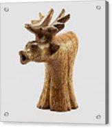 Smokin' Moose Acrylic Print