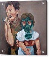 Smoking Acrylic Print