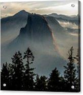 Smoky Dawn At Yosemite Acrylic Print