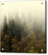 Smoky Mount Horizontal Acrylic Print