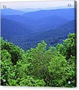 Smoky Mountain National Park Acrylic Print