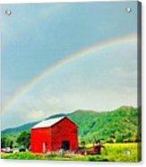 Smoky Mountain Rainbow  Acrylic Print