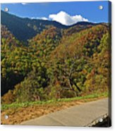 Smoky Mountain Scenery 8 Acrylic Print